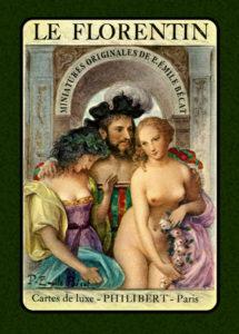 Carta di apertura del mazzo Le Florentine