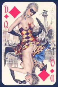 20 - regina di quadri