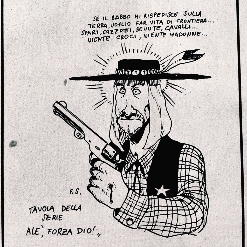 scozzari gesù cowboy