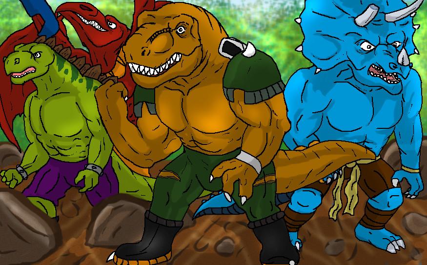 extreme_dinosaurs_by_tai91