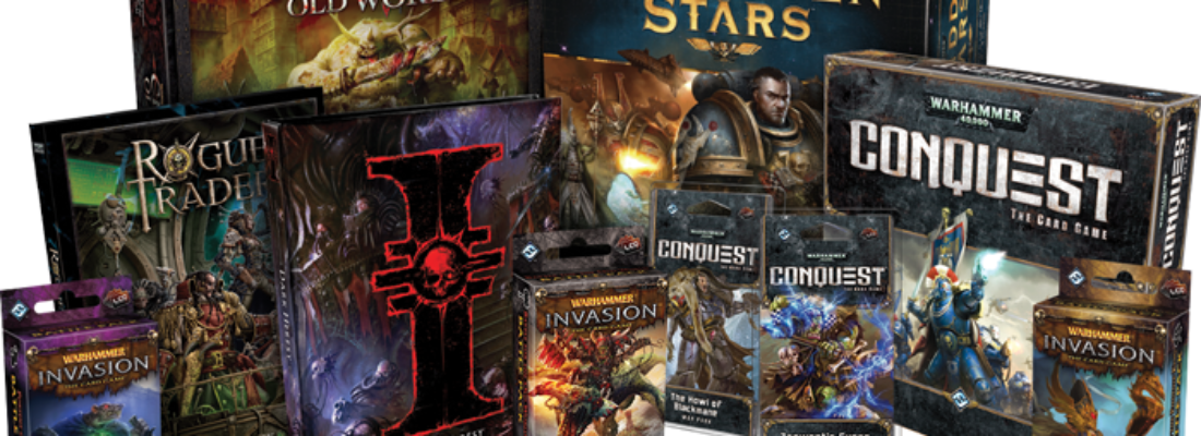 FANTASY FLIGHT GAMES E GAMES WORKSHOP SI SEPARANO