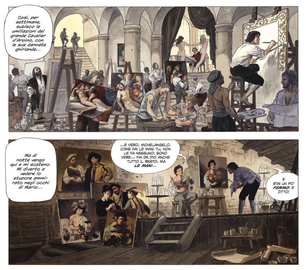milo-manara-caravaggio-graphi-novel-panini-comics-2