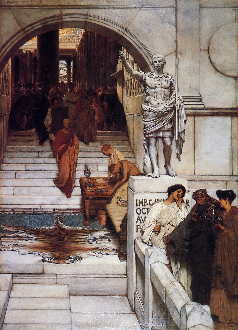 7-lawrence_alma-tadema_-_an_audience_at_agrippa%27s