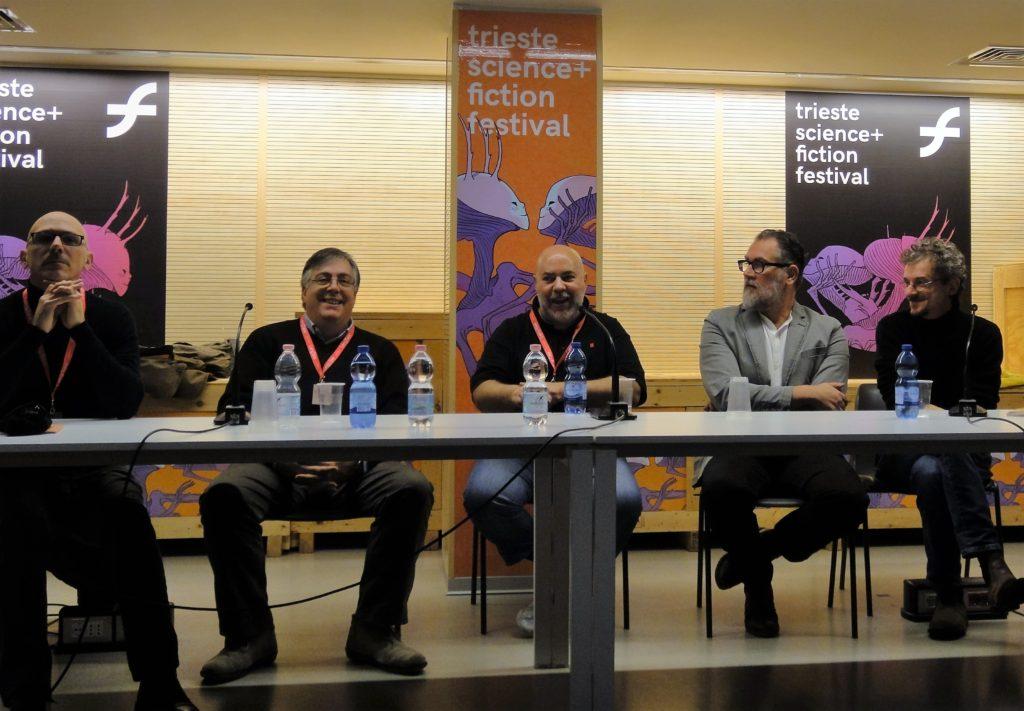 Da sinistra: Sergio Giardo, Bevi Vigna, Glauco Guardigli, Romeo Toffanetti e Mario Alberti