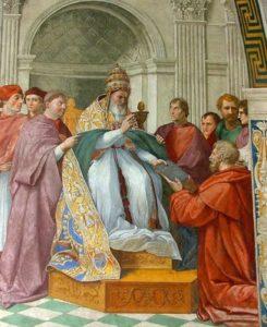 Gregorio IX Raffaello proibizione della Bibbia ai Cristiani