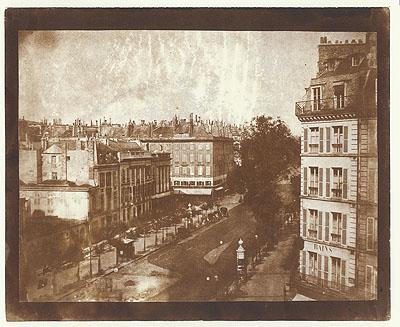 Talbot, The Boulevards of Paris, 1843