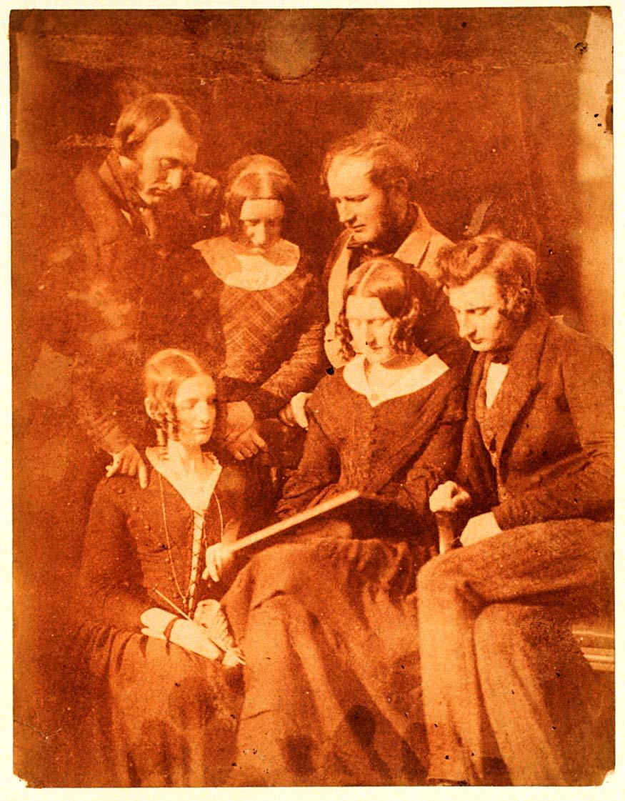 Ritratto di gruppo della famiglia di Adamson