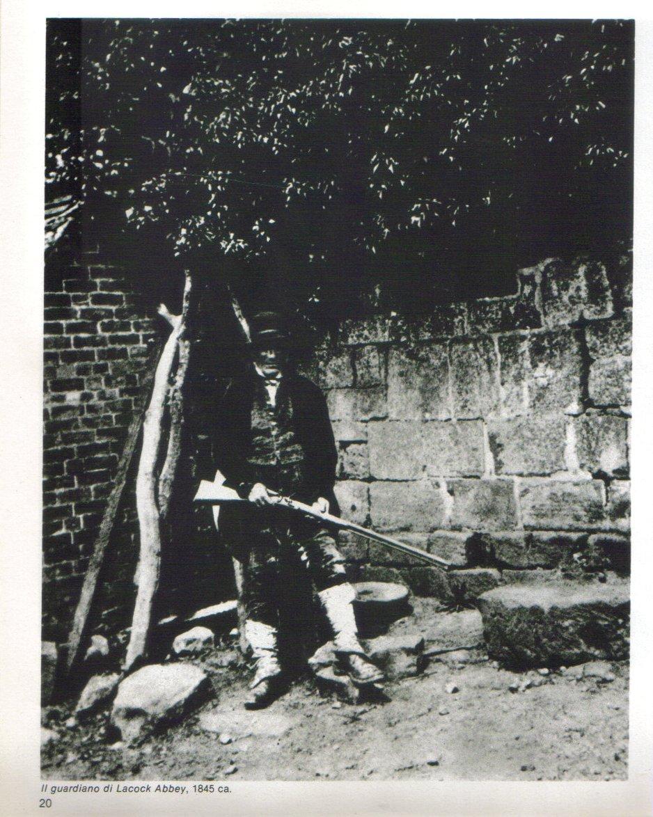 Il guardiano di Lacock Abbey