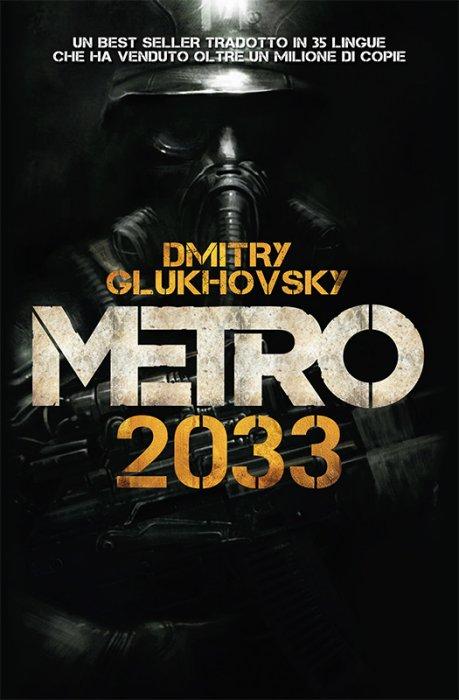 Copertina del romanzo Metro 2033