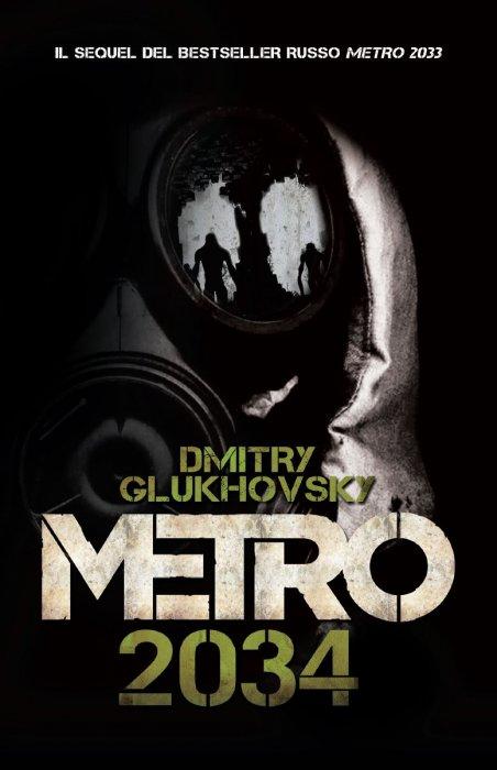 Copertina del romanzo Metro 2034