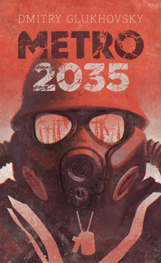 Copertina del romanzo Metro 2035