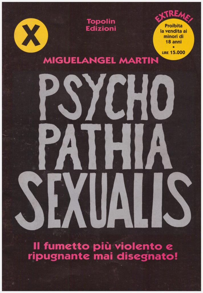 Copertina di Psycho Patia Sexualis