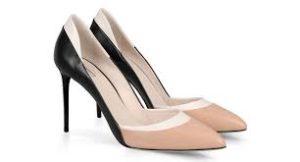 Scarpe bicolori ultima moda