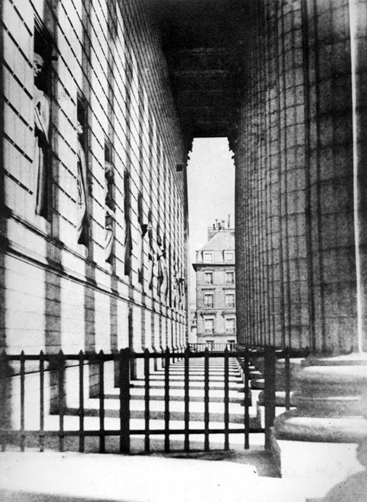 H. Bayard: Colonnato della chiesa di Madeleine; ca. 1845