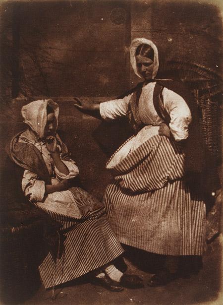 Hill & Adamson: Pescivendole di Newhaven, ca. 1845
