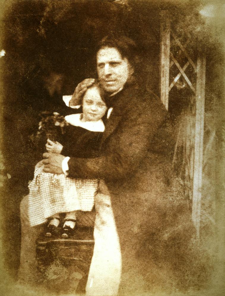 D. O. Hill – Autoritratto con la figlia Charlotte