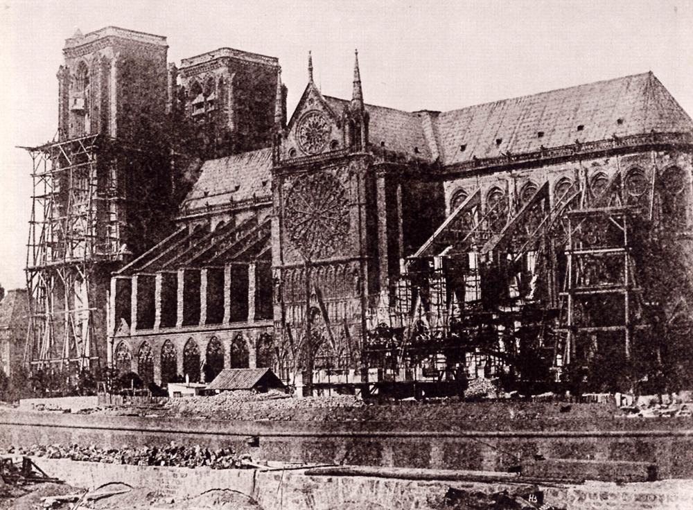 H. Bayard – Notre Dame de Paris; 1847