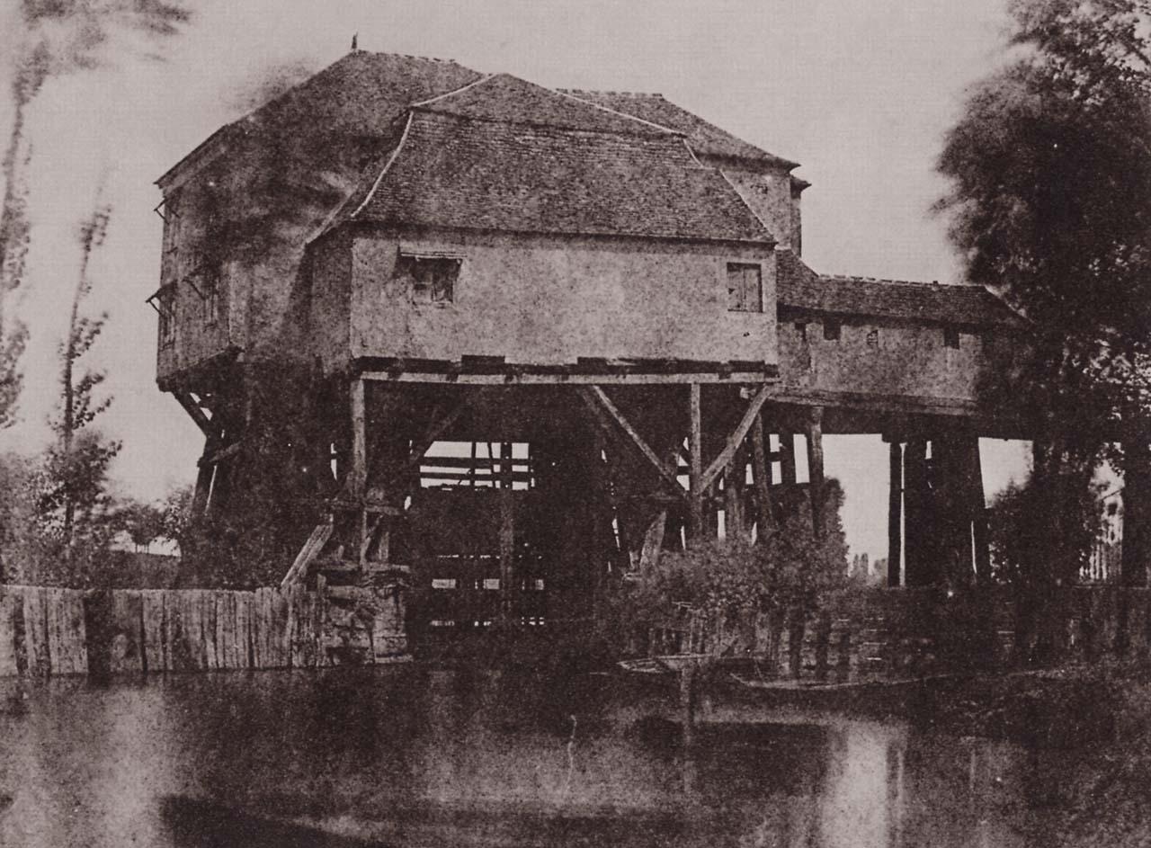 H. Bayard: l Mulino di Saint-Ouen; 1845