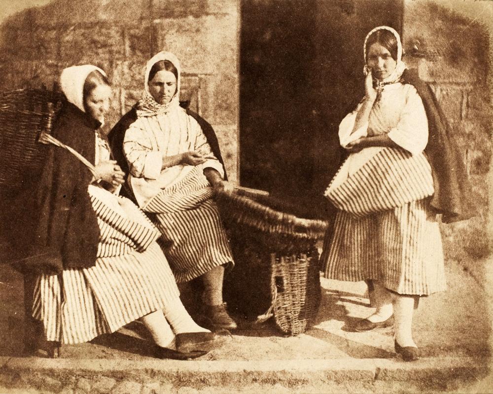 Hill – Venditrici di pesce a Newhaven; ca. 1845