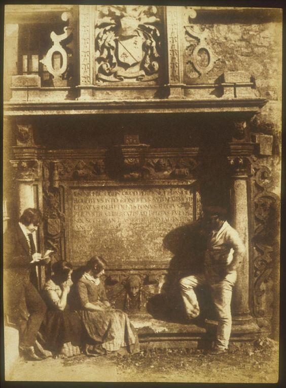 Hill & Adamason: L'artista e il becchino; 1845