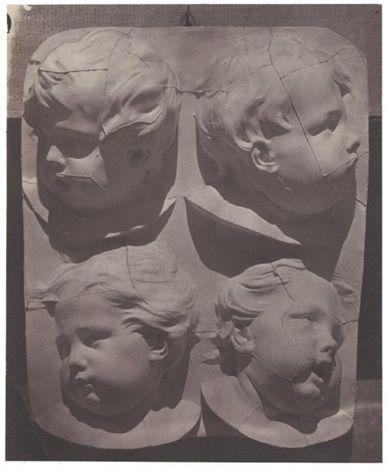 H. Bayard: Effetti di luce su rilievi; 1852
