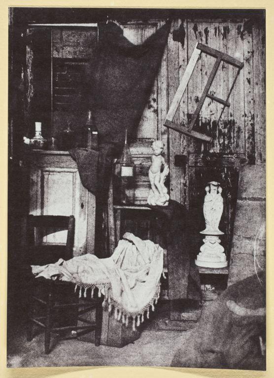 H. Bayard: Soffitta; 1842-50