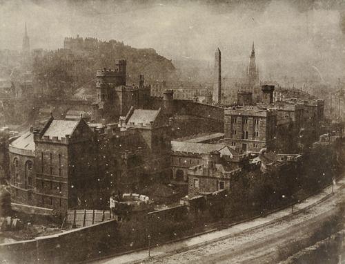 Hill & Adamson: Edimburgo vista da Calton Hill