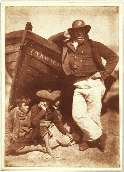 Pescatori di Newhaven; 1845