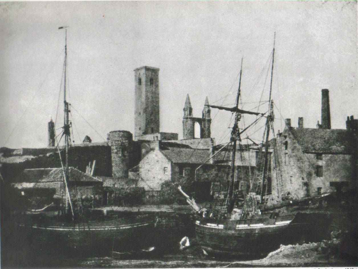 Porto di St. Andrews; ca. 1846
