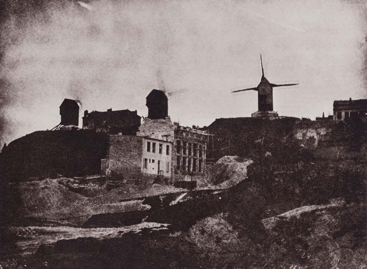 Mulini di Montmartre; 1842