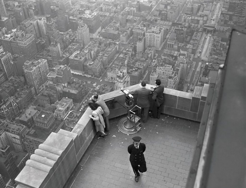 22 May 1947 --- View From the Top of the Empire State Building --- Image by © Bettmann/CORBIS