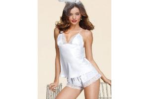 Miranda Kerr, lingerie da sposa