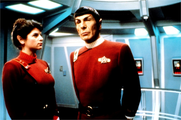 STAR TREK II: THE WRATH OF KHAN, Kirstie Alley, Leonard Nimoy, 1982