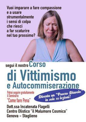 MOMENTO POP – VITTIMISMO