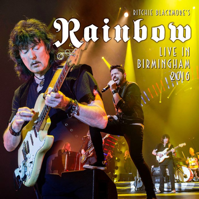 blackmore rainbow live in birmingham 2016