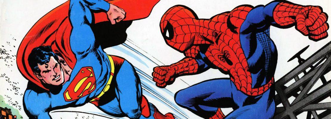 SUPERMAN INCONTRA L'UOMO RAGNO