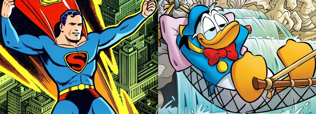 JERRY SIEGEL, IL CREATORE DI SUPERMAN SCRIVE TOPOLINO