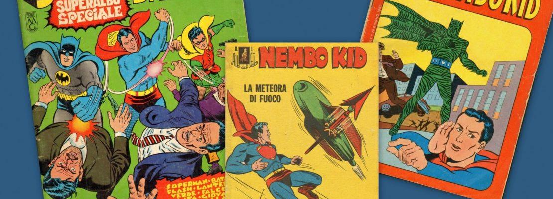 NEMBO KID E PIPISTRELLO, I SUPEREROI IN ITALIA