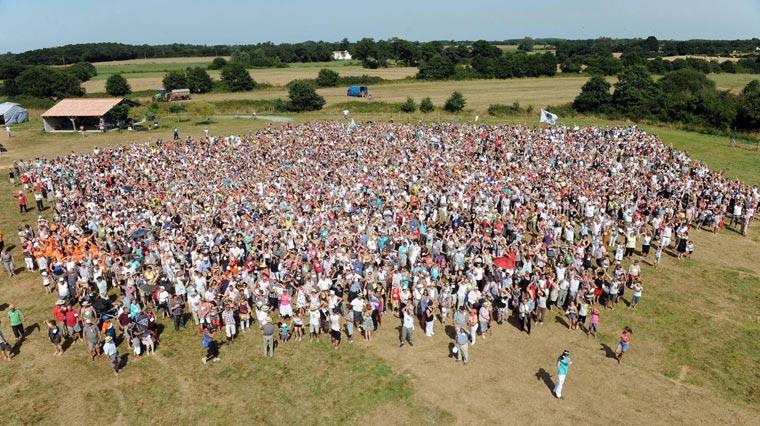 """""""Cousinade"""" della famiglia Porteau Clautour il 19 agosto 2012"""