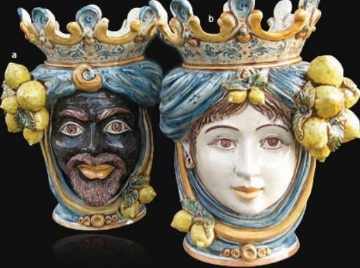 Vasi di terracotta siciliani