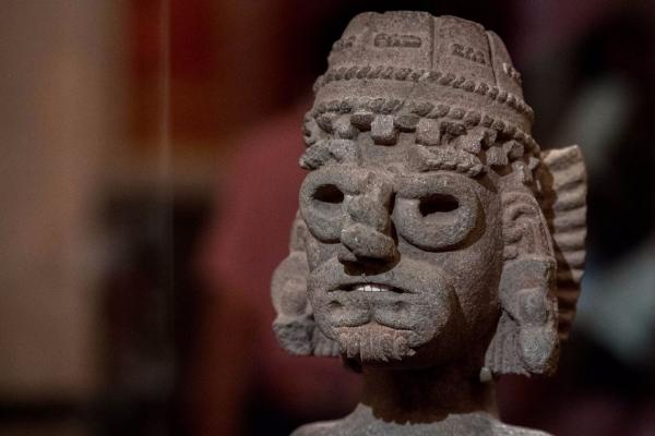 Tlaloc, il dio messicano della pioggia