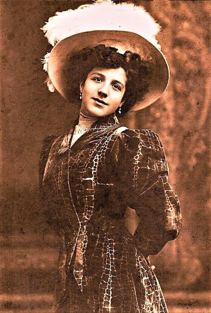 Paola Pazzaglia nel 1911
