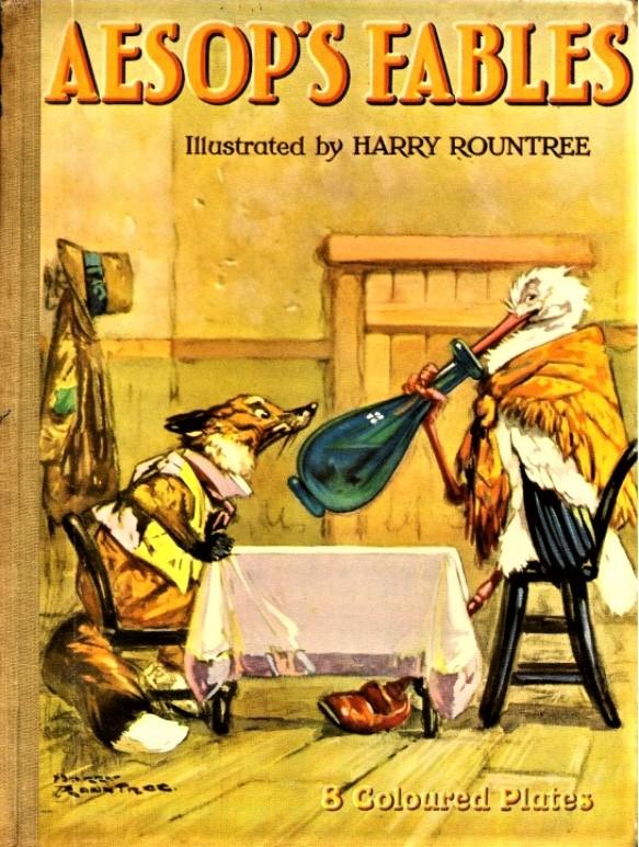 Favole di Esopo, illustrazioni di Harry Rountree, 1920 ca.