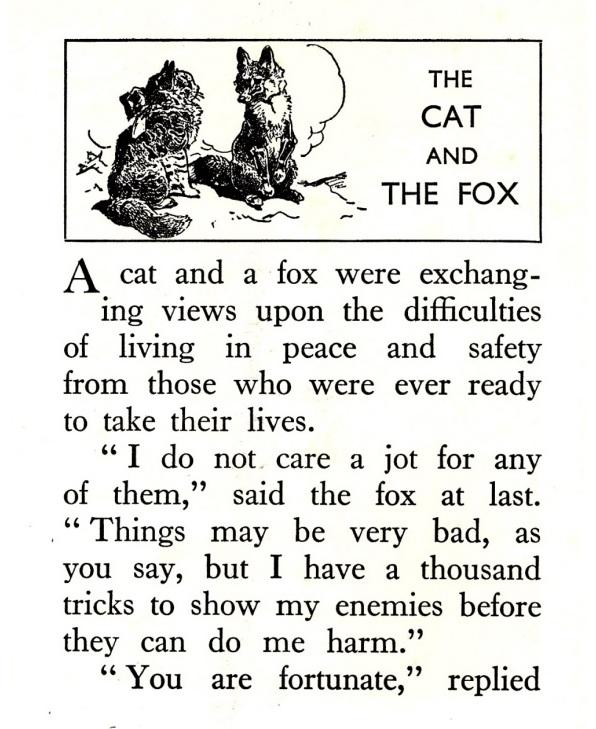 Esopo, illustrazioni di Harry Rountree, 1920 ca.