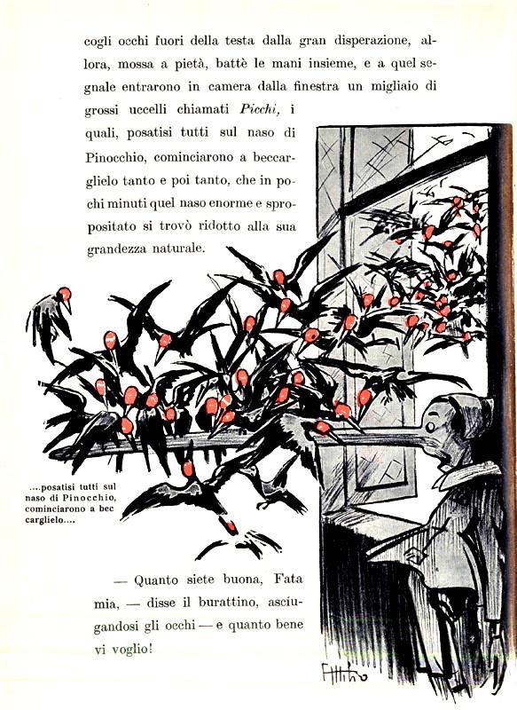 """Attilio Mussino, """"Le avventure di Pinocchio"""", 1911"""