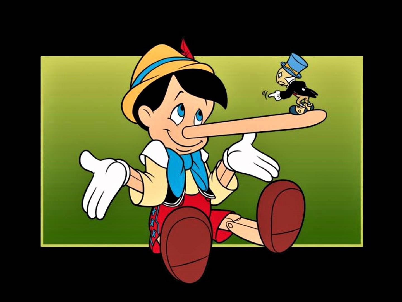 Pinocchio disneyano col Grillo Parlante, ribattezzato Jiminy Cricket