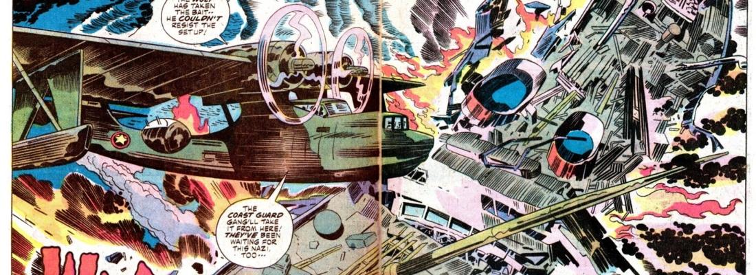 La guerra per Jack Kirby