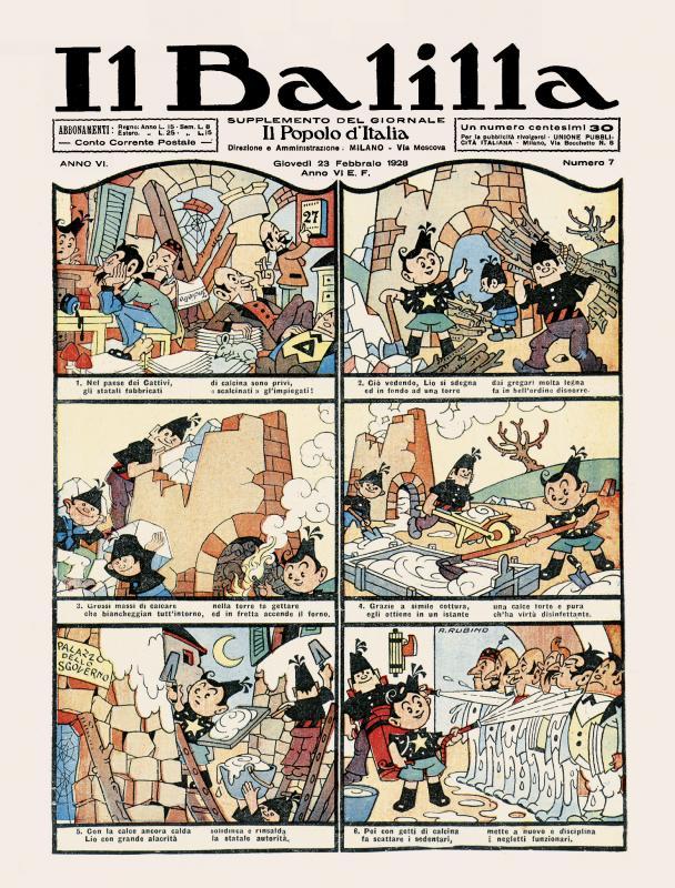 Rubino: Il Balilla n. 7, 1928