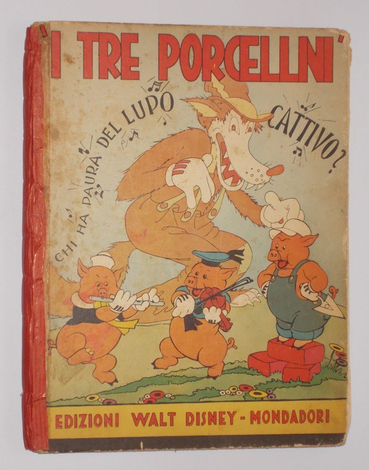 Un numero del 1935 di I tre porcellini