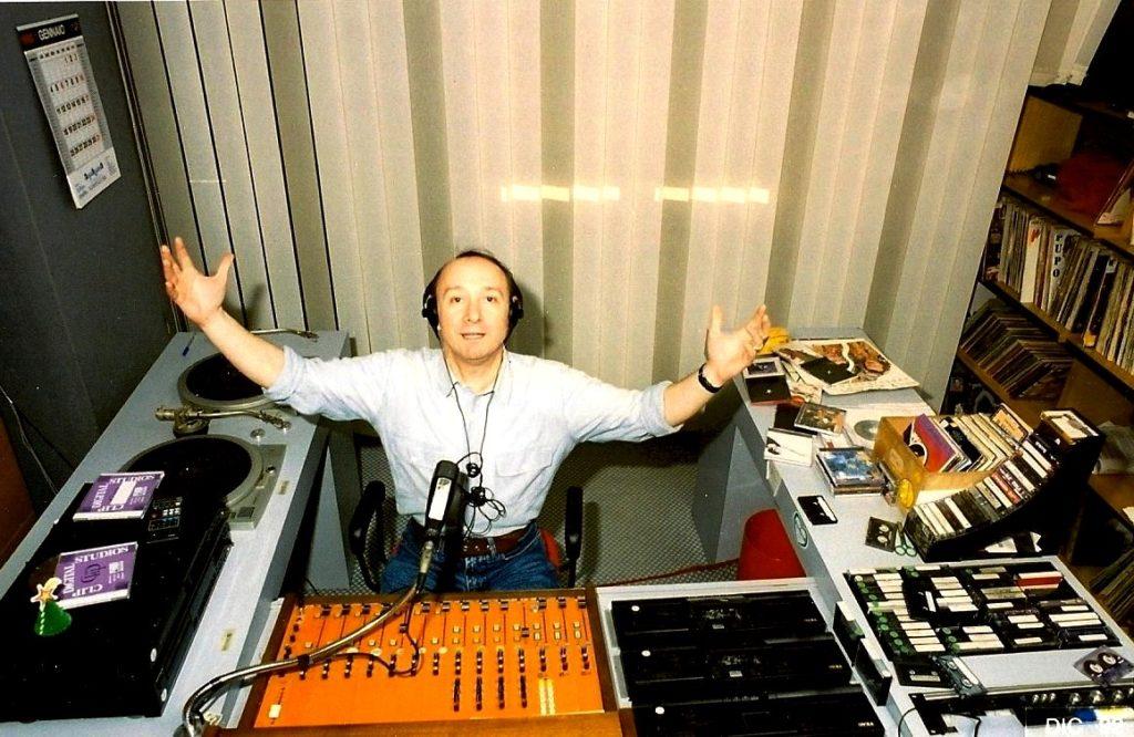 """""""G"""" alla radio nel 1992"""